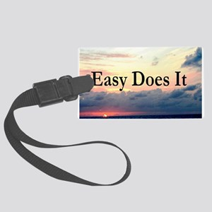 EASY DOES IT Large Luggage Tag