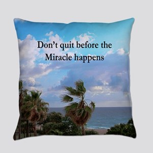 MIRACLES HAPPEN Everyday Pillow