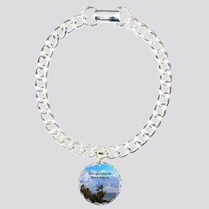 MIRACLES HAPPEN Charm Bracelet, One Charm