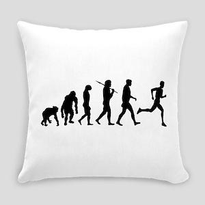 Running Evolution Everyday Pillow