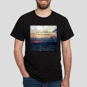 MIRACLES HAPPEN Dark T-Shirt
