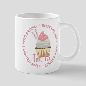 13th Birthday Cupcake Mug