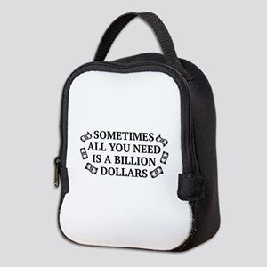 All You Need Neoprene Lunch Bag