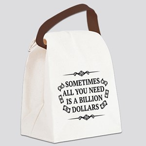 All You Need Canvas Lunch Bag