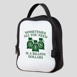 A Billion Dollars Neoprene Lunch Bag