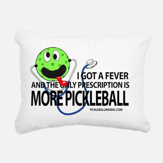 Pickleball Rectangular Canvas Pillow