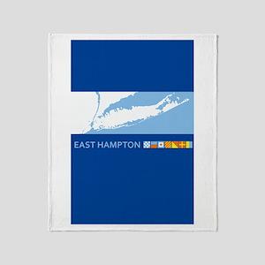 Easthampton - Long Island. Throw Blanket