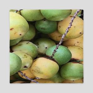 Green Palm Berry Queen Duvet