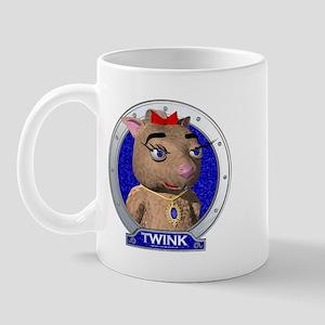 Twink's Blue Portrait Mug