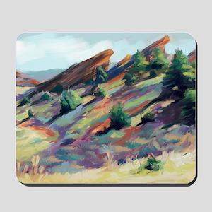 Red Rocks Park Mousepad