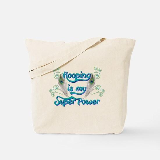 Hula Hooping is My Super Power Tote Bag