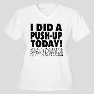 Push-up Plus Size T-Shirt