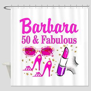 50TH PRIMA DONNA Shower Curtain