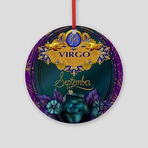 Virgo Ornament (Round)