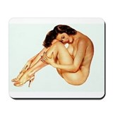 Hot girl Mouse Pads