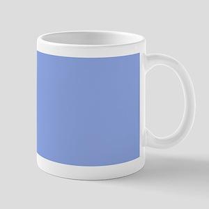 Solid Light Blue Mugs