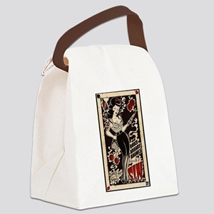 Pin-ups Canvas Lunch Bag