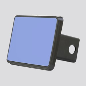 Solid Light Blue Rectangular Hitch Cover