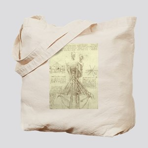 Spinal Column by Leonardo da Vinci Tote Bag