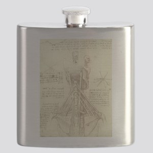 Spinal Column by Leonardo da Vinci Flask