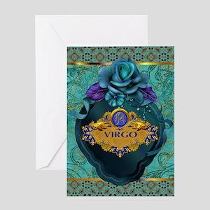 Virgo Greeting Cards