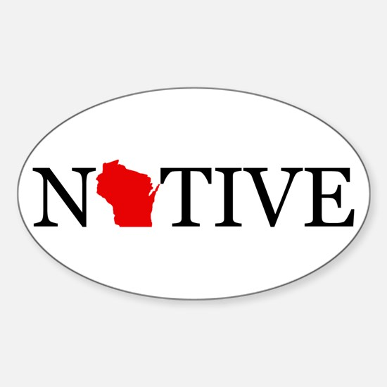 Native - Wisconsin Decal