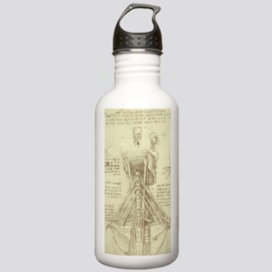 Spinal Column by Leon Stainless Water Bottle 1.0L