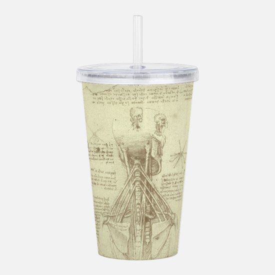 Spinal Column by Leon Acrylic Double-wall Tumbler