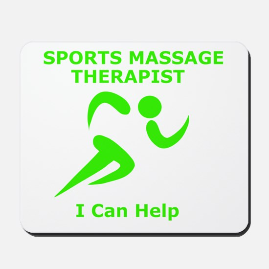 Massage Therapist Eye Catching Design Mousepad