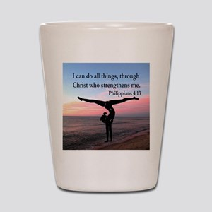 CHRISTIAN GYMNAST Shot Glass