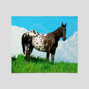 Blanket Appaloosa Horse Throw Blanket