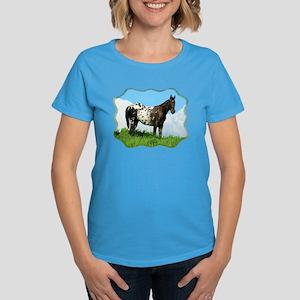 Blanket Appaloosa Horse Women's Dark T-Shirt