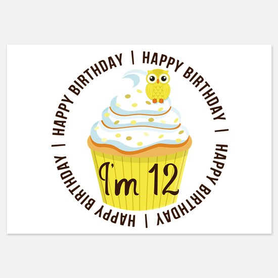 12th birthday invitations for 12th birthday 12th birthday 12th birthday cupcake invitations filmwisefo Image collections