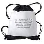 All I Want Drawstring Bag