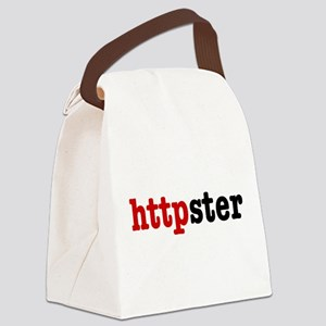 httpster Canvas Lunch Bag