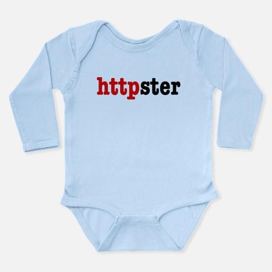 httpster Long Sleeve Infant Bodysuit