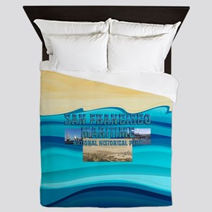 ABH San Francisco Maritime Queen Duvet