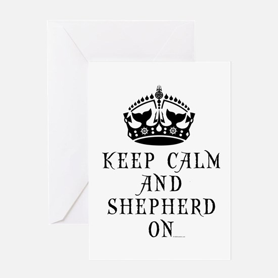 Keep Calm and Save The Oceans Greeting Card