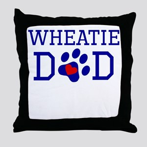 Wheatie Dad Throw Pillow