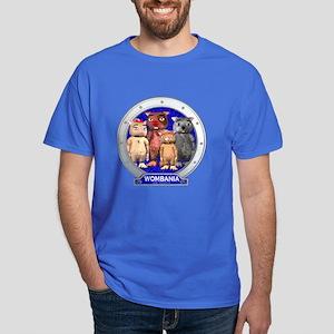 Wombies' Blue Group Portrait Dark Colored T-Shirt