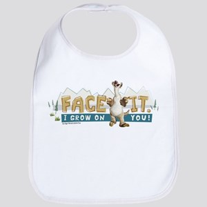 Ice Age Face It Bib