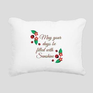 Filled With Sunshine Rectangular Canvas Pillow