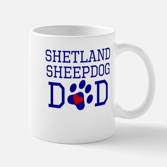Shetland Sheepdog Dad Mugs