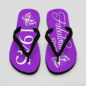 Fabulous Since 1945 Flip Flops