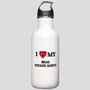 I love my Real Estate Stainless Water Bottle 1.0L