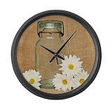 Mason jar Giant Clocks