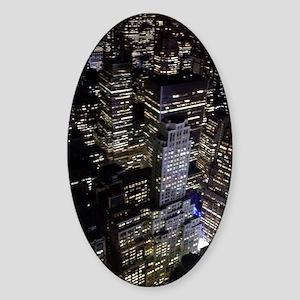 Gotham Sticker (Oval)