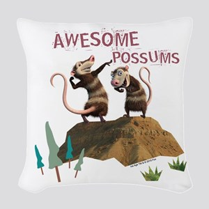 Ice Age Awesome Woven Throw Pillow