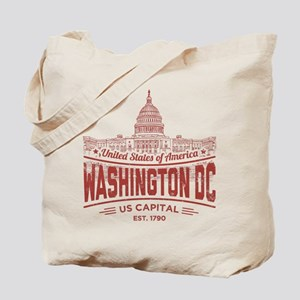US CAPITAL (RED) Tote Bag
