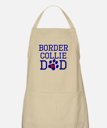 Border Collie Dad Apron
